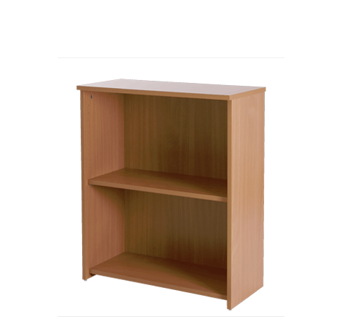 Basix 800 mm Bookcase In Warm Beech click for larger image