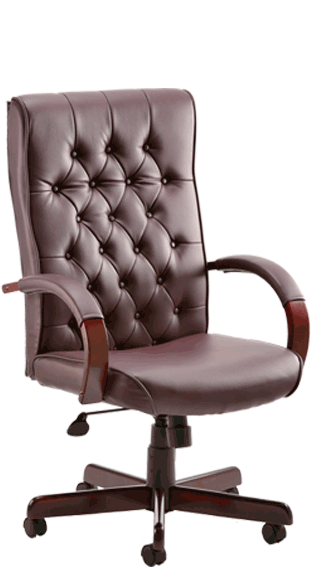 Chesterfield Burgundy Leather click for larger image