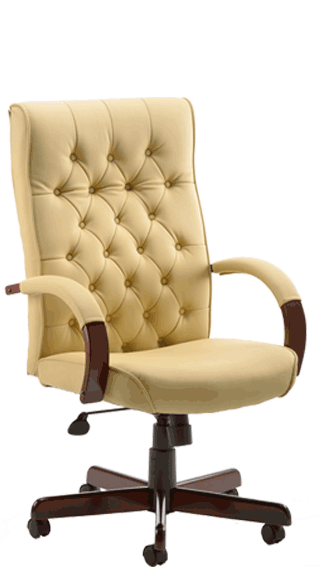 Chesterfield Cream Leather click for larger image