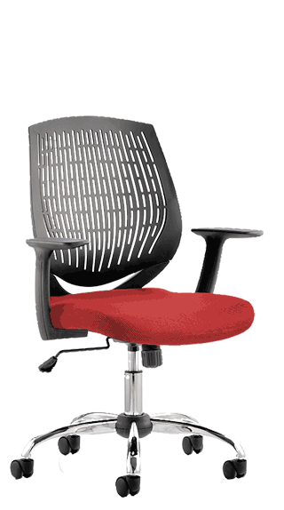 Dura Bespoke Seat Tobasco Red click for larger image