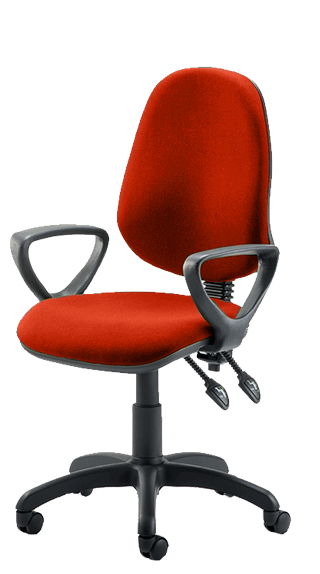 Eclipse III Fixed Armrests Bespoke Tobasco Red