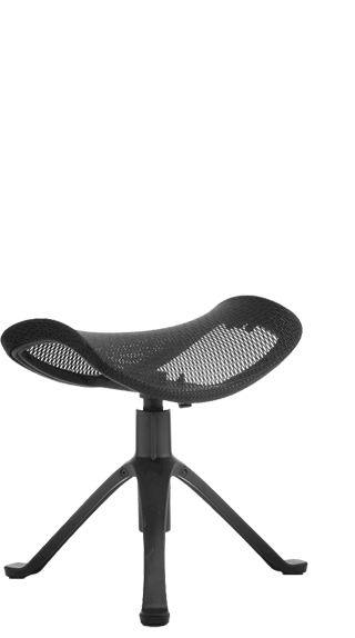 Ergo Dynamic Footstool in Black click for larger image
