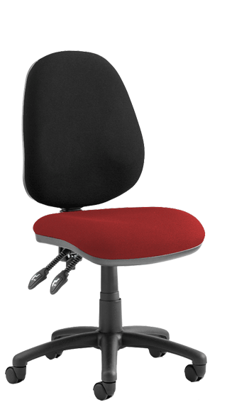 Luna II Bespoke Seat Tobasco Red click for larger image