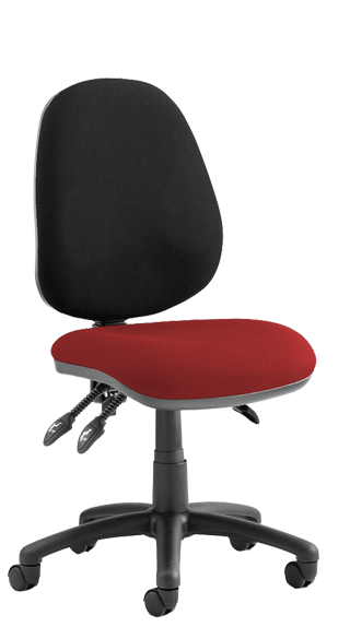Luna III Bespoke Seat Tobasco Red click for larger image
