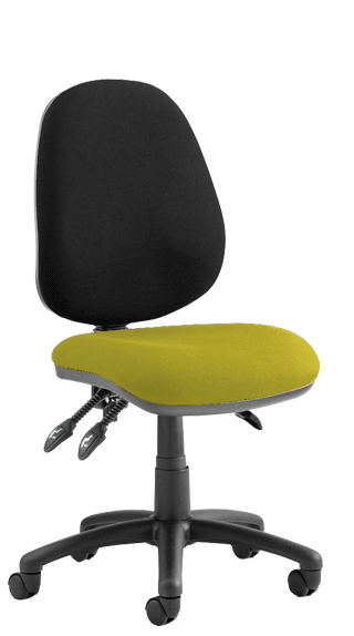 Luna III Bespoke Seat Senna Yellow click for larger image