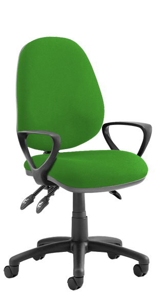 Luna III Fixed Armrests Bespoke Myrrh Green KCUP0962