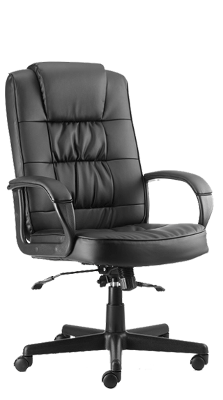 Moore Executive Black Leather click for larger image